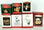 Hallmark Dated Ornaments-Fabulous Decade and Frosty Fun Decade-Lot of 7 Ornament