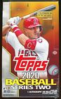 2020 TOPPS SERIES 2 BASEBALL SEALED 24 PACK HOBBY BOX rainbow silver