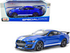 MAISTO 1 18 SCALE 2020 BLUE FORD SHELBY GT500 MUSTANG DIECAST CAR MODEL 31388BLU