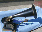1905 Columbia Style Standard Disc Phonograph Graphophone Open Works Working