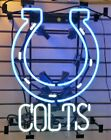 Indianapolis Colts Neon Lamp Sign 17x14 Bar Lighting Beer Artwork Glass