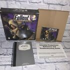FALLOUT 2 Big Box Game Windows PC 1998 Interplay COMPLETE w Journal CIB