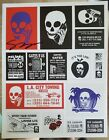 SKULLPHONE SIGNED Sticker Sheet Limited Edition of 200 Stuck Up Deluxe Vol 2