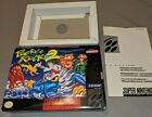 BOX ONLY! Pocky & Rocky 2 Super Nintendo SNES Great Shape! Natsume And