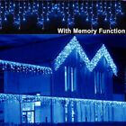 13 130ft Curtain Icicle Lights Wedding Party LED Fairy Christmas Indoor Outdoor