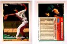 Dennis Eckersley Signed 1994 Topps #465 Card Oakland Athletics Auto Autograph