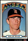 1972 Topps 595 Nolan Ryan Angels 7 NM