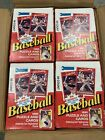 Lot Of 4 1990 DONRUSS BASEBALL WAX BOX FACTORY SEALED 36 PACKS From Sealed Case