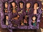 Vintage Retired Holiday Time Child Nativity Set Christmas for Children