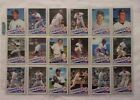 1985 TOPPS & TRADED NEW YORK YANKEES 39 CARD LOT #34 COMPLETE SET (NM MN)