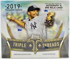 2019 Topps Triple Threads Factory Sealed Hobby Baseball Box