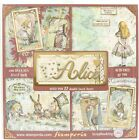 Stamperia Single Sided Paper Pad 12X12 22 Pkg Alice 22 Designs 1 Each