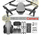 4K Drone1080 HD Camera UAV Wide Angle Lens 24Ghz WiFi 25min Flight Black UK
