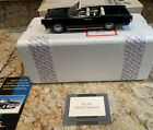 Franklin Mint 1961 Lincoln Continental Convertible 124 Scale Diecast Model Car