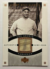 Lou Gehrig 2005 UD Sweet Spot Classic GAME USED Relic SP New York Yankees HOF