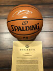 Lebron James signed Basketball UDA Upper Deck COA NBA LAKERS HEAT CAVS Autograph