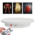 360 Remote Electric Motorized Rotating Turntable Display Stand Platform 40CM US