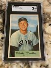Ultimate Guide to 1950s Mickey Mantle Topps and Bowman Cards 19