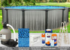 18x52 Boreal Round Above Ground Swimming Pool Package