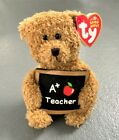 TY Beanie Baby Cool Teacher The Bear With Tag Retired   DOB: May 3rd, 2006