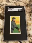 T206 CY YOUNG SWEET CAPORAL SGC 6.5 NEW LABEL CENTERED HIGH END HOF LOOKS NICER
