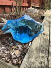 Glass Rock Slag Clear Sapphire Blue And White Aquariums landscaping