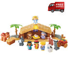 Little People Christmas Story Nativity 12 Figure Set