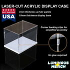 Acrylic Display Case Self-assembly Clear Cube Box Uv Dustproof Figure Protection