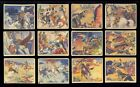 1940 GUM INC LONE RANGER 50 COMPLETE SET 24 48 PRICED RIGHT GREAT COLOR
