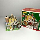 Lemax Sunset Valley Cheese Factory Christmas Village House in Box - Retired