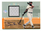 BARRY BONDS 2000 UD Upper Deck Auto Autograph Signed Game Jersey Card Giants SP