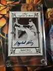 2012 LEAF LEGENDS OF SPORT Gaylord Perry silver 8 10 AUTO Autograph