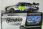 2010 Jimmie Johnson 48 Lowes GATORADE DUEL 1 WIN DUAL AUTOGRAPHED car488 638