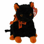 Ty Beanie Baby - Fraidy the Halloween Black Cat New (6 Inch) MWMT 15cm Rare