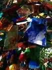Scrap Stained Glass approx 15s FREE SHIPPING
