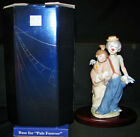 Lladro Pals Forever Clown And Girl Society Figurine 7686+LLADRO base + box