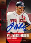 Will Middlebrooks autographed baseball card 2013 Topps Chasing The Dream #CD3