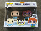 Tommy Chuckie Nickelodeon Rugrats 2 Pack Funko Pop Bam! Exclusive Authentic