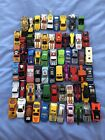 MIXED LOT 60+ CARS 80S 90 HOTWHEELS MATCHBOX UNBRANDED DIECAST PLASTIC PREOWNED