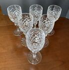 Waterford Crystal Powerscourt Goblet Wine Water Glass Set of Six