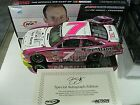 RARE 2 CARS SIGNED 2013 REGAN SMITH FIRE ALARM PINK PINK COLOR CHROME JRM