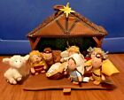 The Nativity Tales of Glory 8 Piece Plush Play Set with Manger