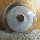 Signed Michael Holm 97 Glass Paperweight Shell Design