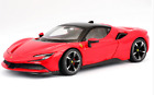 Bburago 124 Ferrari SF90 Stradale Diecast Model Sports Racing Car NEW IN BOX