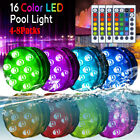 Submersible LED Bulb Underwater Light Fountain Swimming Pool Lamp Remote Control