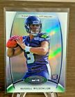 2012 Topps Platinum Russell Wilson REFRACTOR Base Rookie Card #138 - Seahawks RC