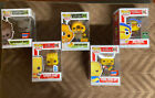 The Simpsons Funko Pop NYCC lot of 5: Homer, 2 Barts, Comic Book guy, Milhouse
