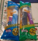 2 Walt Disney Pez Candy Dispensers Donald Duck One Blue and One Black