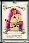 2010 Topps Allen & Ginter UNRIPPED Rip Card Alex Rodriguez #RC55 02 05