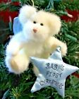 NWT Boyds Bears Collectible B. ANGELBOY - Baby Boy's First Christmas Ornament